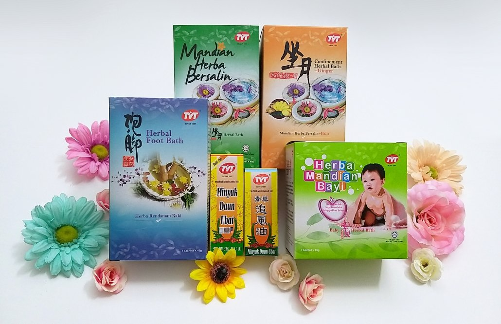 TYT has a range of herbal medicated oils and bath products