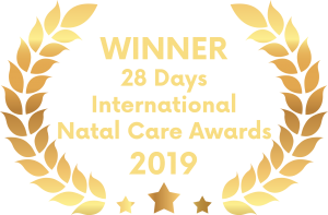 Winner of 28 Days International Natal Care Awards 2019