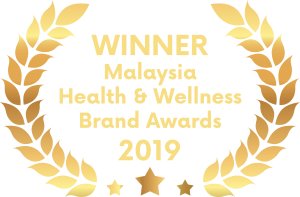 Winner of Malaysia Health & Wellness Brand Awards 2019